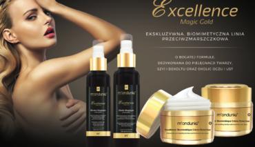 Excellence Magic Gold   ekskluzywna, biomimetyczna linia przeciwzmarszkowa   Zabiegi na twarz